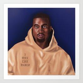 Mr.West Art Print
