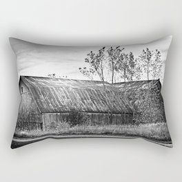 Sun Kissed Barn Rectangular Pillow