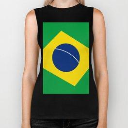 Team Brazil #brasil #selecao #bresil #brazil #russia #football #worldcup #soccer #fan #worldcup2018 Biker Tank