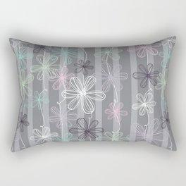 Flower Play Rectangular Pillow