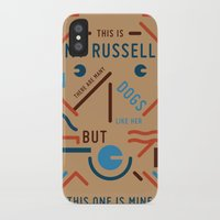 My Russell Slim Case iPhone X