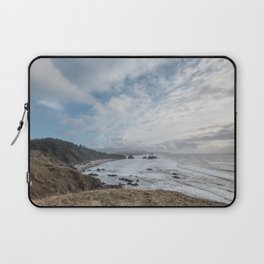 Beautiful Landscape at Ecola State Park Oregon Laptop Sleeve