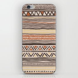 Hand Drawn Ethnic Pattern iPhone Skin