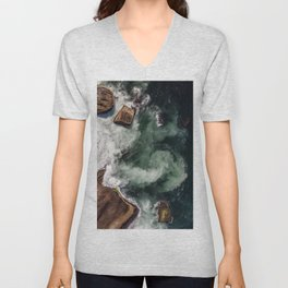 The Dynamics of Water Unisex V-Neck