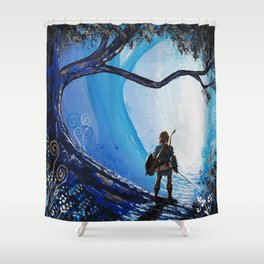 Link Zelda Shower Curtain
