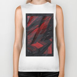 Cherry Marble | texture 02 Biker Tank