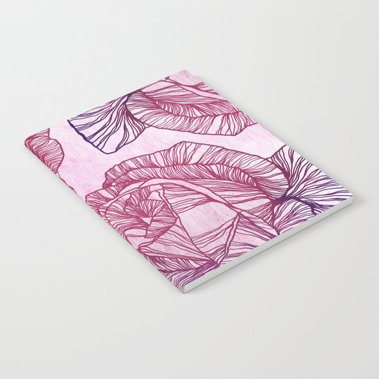 Purple rose Notebook