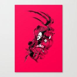 DRESS TO KILL Canvas Print