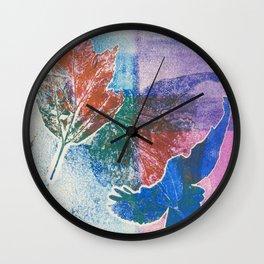 Print Bird & Leaf Wall Clock