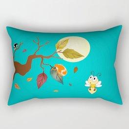 Fall Down Rectangular Pillow