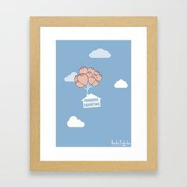 Paradise Squirting Framed Art Print