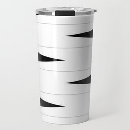 Checkered Triangle Travel Mug