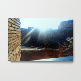 Dawn of a Fight Day Metal Print