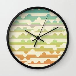 Retrometry VII Wall Clock