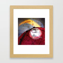 #Brace for #Impact - 20160303 Framed Art Print