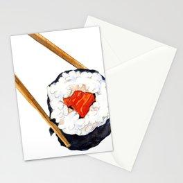 Sushi Nigiri Art Stationery Cards