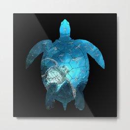 Sea Turtle - Under The Sea Metal Print