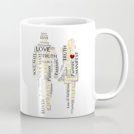 Soul Mate Word Art Coffee Mug