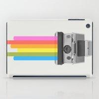 rainbow iPad Cases featuring Taste the Rainbow by Zeke Tucker