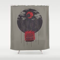 The Most Beautiful Night of All Shower Curtain