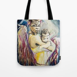 Mother Mary. Tribal Edition. Tote Bag