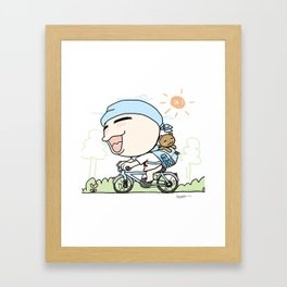 K YOUNG-OUTING(2) Framed Art Print