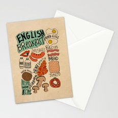 English Breakfast Stationery Cards