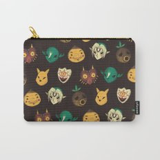 pattern of masks.  Carry-All Pouch