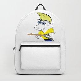 guitarman blonde Backpack