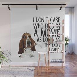 Bassett Hound Wall Mural