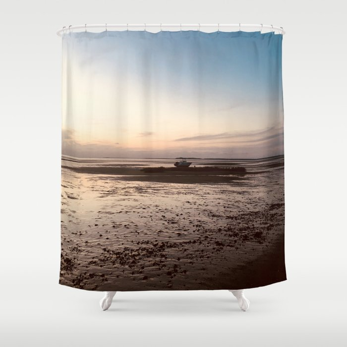 Postcards From Cape Cod Shower Curtain