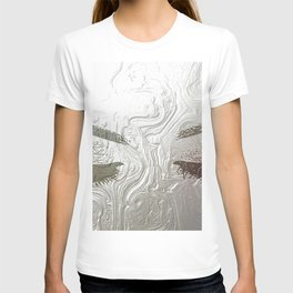 Silver and lashed glam T-shirt