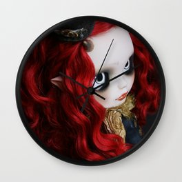 STEAMPUNK (Ooak  BLYTHE Doll) Wall Clock