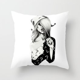 Gotham Masquerade II Throw Pillow