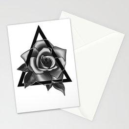 Rose Tattoo Design Stationery Cards