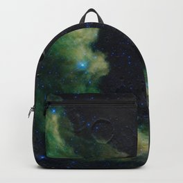 The Witch's Mirror The Dark Side Of The Moon (Mare Moscoviense & Witch Head Nebula) Backpack