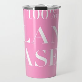 100% Plant Based Statement Tee Travel Mug