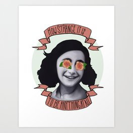 Communist Daughter Art Print