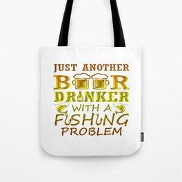 Beer and Fishing Tote Bag