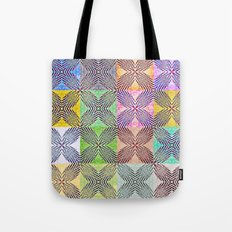 Colorful X's Tote Bag