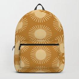 Golden Sun Pattern II Backpack