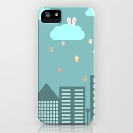 Easter town iPhone Case