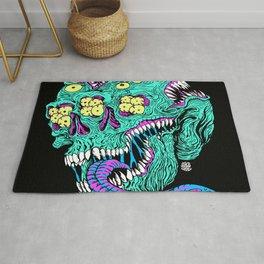 Skull Monster Rug