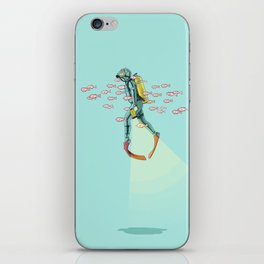 FLOAT - Under the sea iPhone Skin