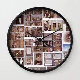 Comic Life Wall Clock
