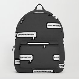 Sempiternal - Grey Backpack