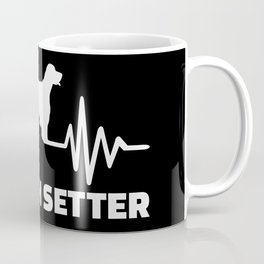 Heartbeat English Setter Coffee Mug