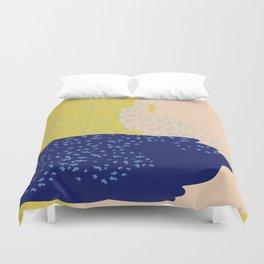 Mustard Sea Duvet Cover