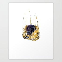 Die with Dream Art Print