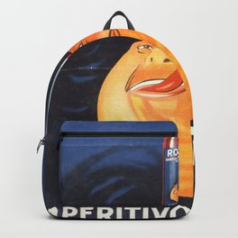 Vintage French Advertising Poster Backpack